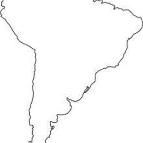 south america map drawing south america coloring pages hellokids