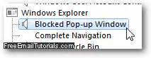 Blockers Name Change Mute And Turn The Popup Blocker Sound In Explorer