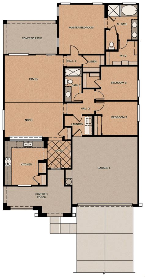 fulton homes floor plans buena vista reserve at queen creek station by fulton homes