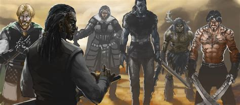 malazan book of the fallen character pictures artwork malazan empire page 3