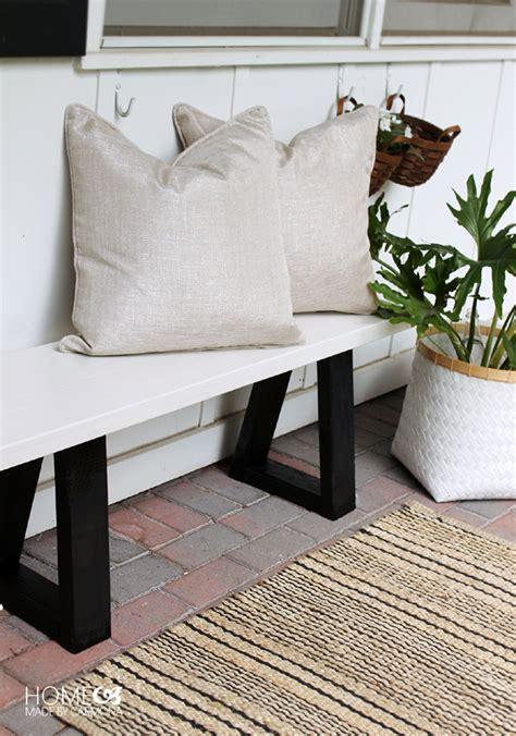 western bench west elm bench knock off home made by carmona