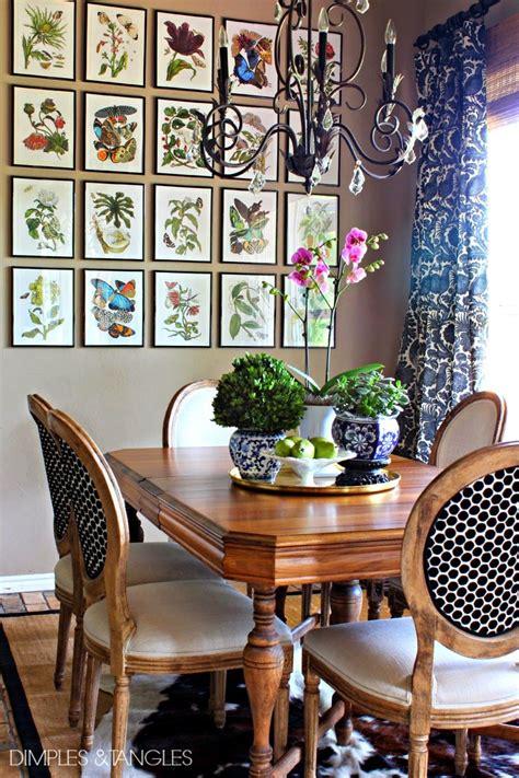 art for the dining room ballard botanical prints high low version diy
