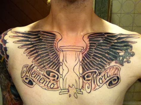 wing chest tattoo 81 alluring wings on chest