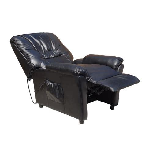 poltrona vibrante poltrona nera massaggiante camilla sp952 poltrona relax