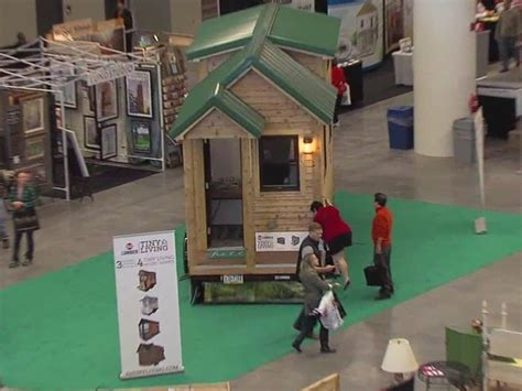tiny houses draw a big crowd at home and remodeling expo