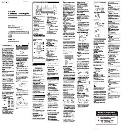 sony cdx gt07 wiring harness diagram further sony cdx