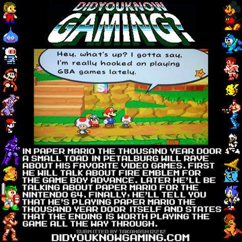 Mario Thousand Year Door by Did You Gaming Paper Mario The Thousand Year Door