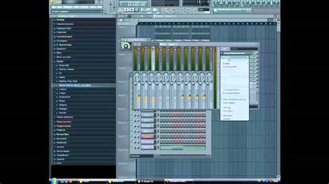 tutorial fl studio electro house fl studio 10 how to make a house electro beat