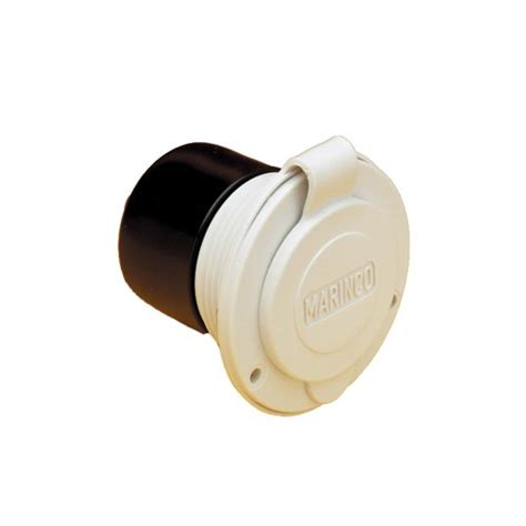 V Luminos Charger Motor 15a Waterproof marinco 150bbiw marine on board charger inlet 15 125 volt white marinco beautil