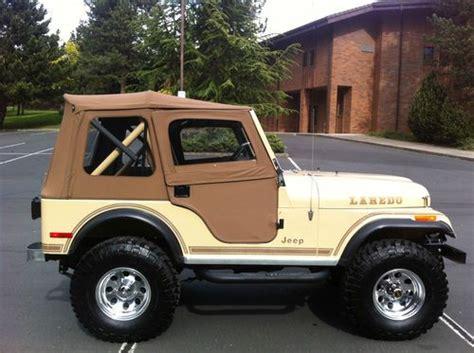 jeep cj5 laredo purchase used jeep cj5 cj 5 laredo cj in medford oregon