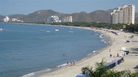 playas de santa marta colombia file santa marta beach jpg wikimedia commons