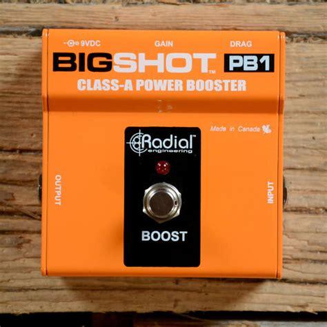 Radial Bigshot Pb1 radial bigshot pb1 powerbooster buffer catawiki