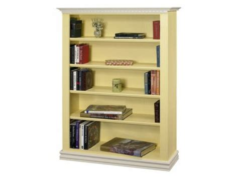 15 best collection of painted bookcase