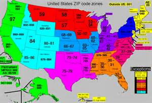 usa zip code map my