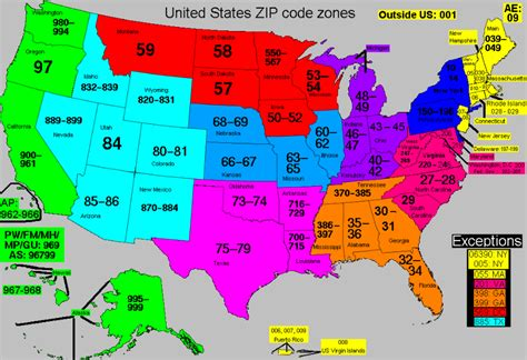 map of usa states zip codes couponing how to change a zip code on