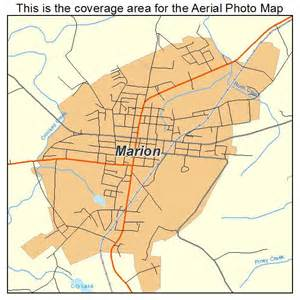 marion map aerial photography map of marion ky kentucky
