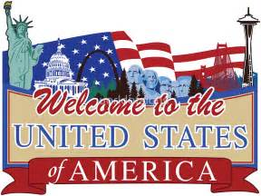 Wall Sticker Canada quot welcome to the united states of america us canada border