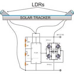 solar tracking system circuit diagram pdf