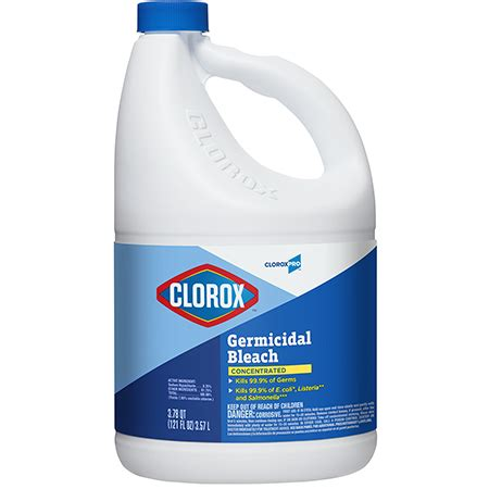 clorox cloroxpro germicidal bleach  oz atlanta mro supply