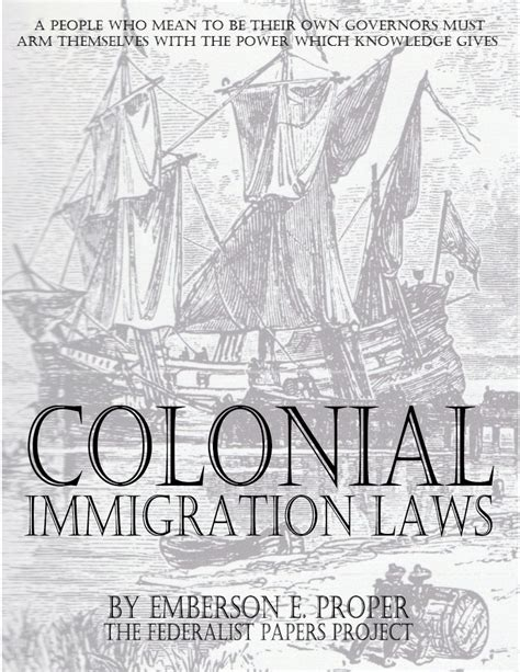 immigration fraud fixing loopholes in immigration books colonial immigration laws