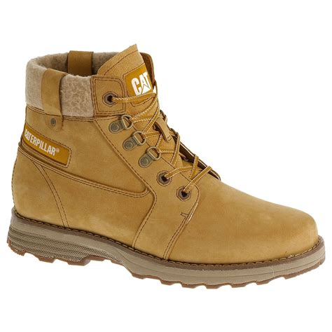 womens casual boots cat charli casual boots s honey reset uttings