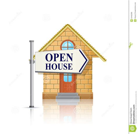 open house estate sales open house for sale with white real estate sign royalty free stock image image 25462366