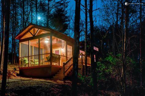 cabin rental next to lake lure carolina