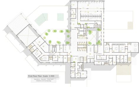 hospital laundry layout plan cad dwg my graduation project quot general hospital quot on behance
