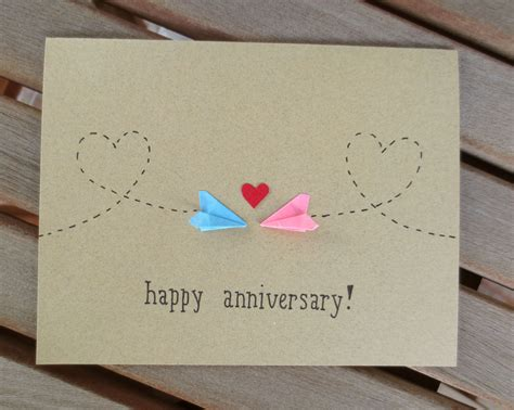 Handmade Anniversary Cards For Parents - airplane handmade card pesquisa handmade