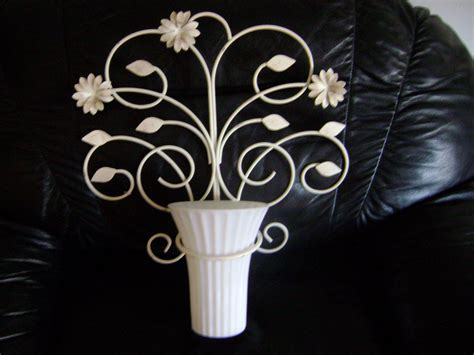 wall mounted plant holder shabby vase wall mount plant holder