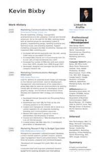 Communications Supervisor Sle Resume by Responsable Marketing Communication Exemple De Cv Base