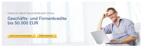 deutsche bank ratenkredit deutsche bank gesch 228 ftskunden alles zu kontakt und login