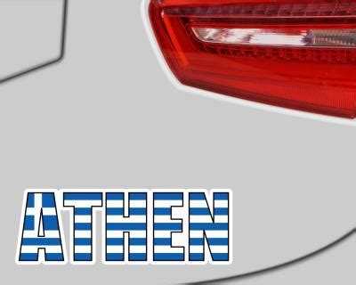 Aufkleber Griechenland Auto by Athen Schriftzug Griechenland Aufkleber Autoaufkleber 4