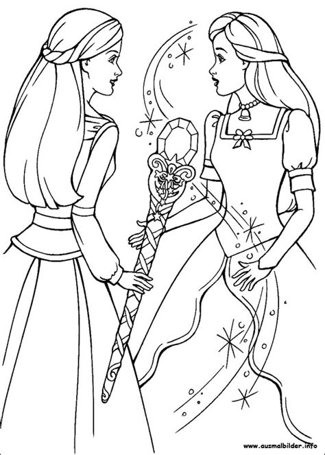 Barbie Und Der Geheimnisvolle Pegasus Malvorlagen And The Princess And The Pauper Free Coloring Sheets