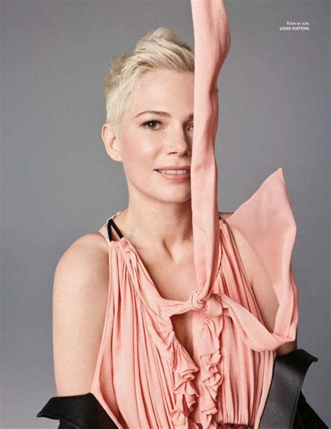 Michelle Williams   Louis Vuitton Fashion Shoot   ELLE