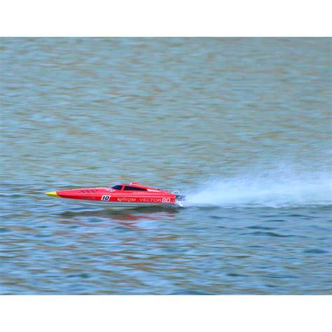 vector 80 rc boat volantex v798 1 vector 80 red artr 2 4ghz mono hull deep