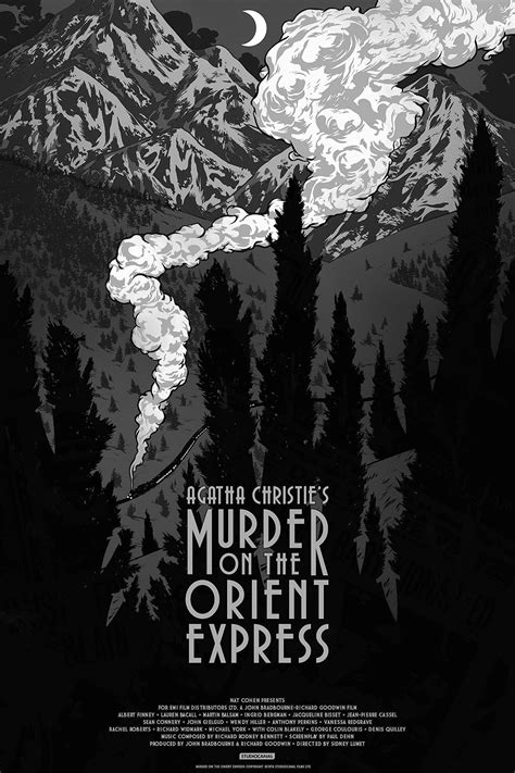 INSIDE THE ROCK POSTER FRAME BLOG: Murder On The Orient