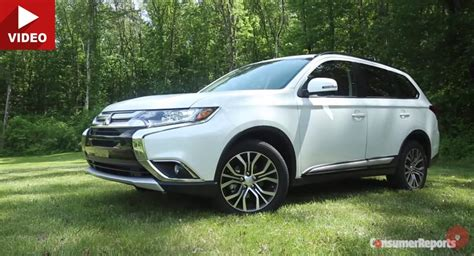 mitsubishi outlander 2016 white cr finds 2016 mitsubishi outlander s makeover didn t do
