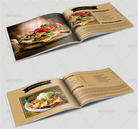cookbook layout template cookbook template 31 free psd eps indesign word pdf