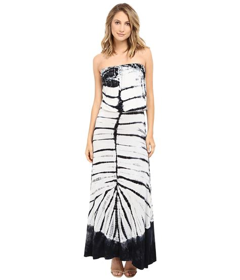 Maxi Marion Navy etounes gt culture phit marion striped keyhole dress white