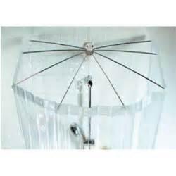 rideau de en plastique eventail sensea transparent