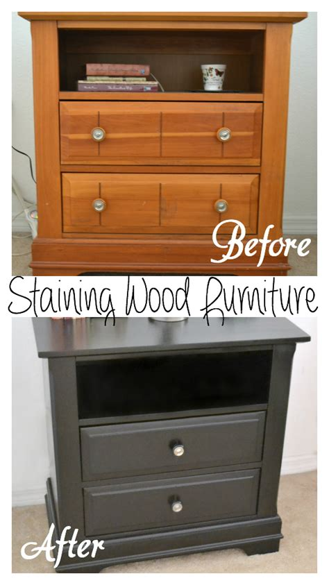 restaining bedroom furniture it s a mom s world my 40 nightstands makeover using