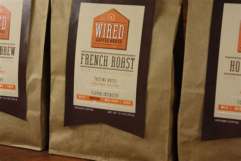 wired coffee house student spotlight wired coffee house the dieline packaging branding design
