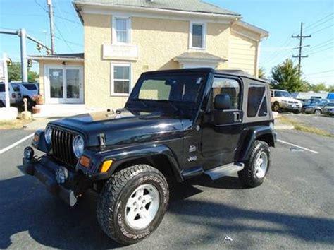 Jeep Winchester Va Jeep Wrangler For Sale Winchester Va Carsforsale