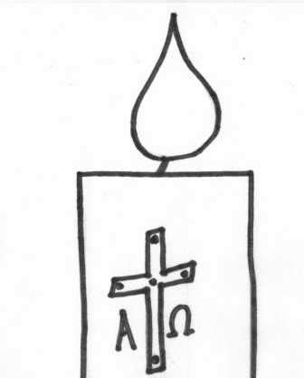 Baptism Candle Template search results for to colouring in a birthday candle calendar 2015