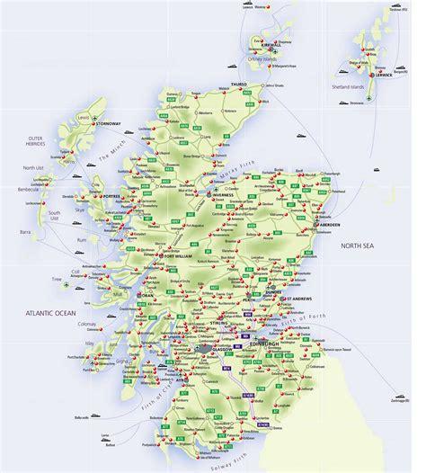 roadmap  scotland scotland info guide