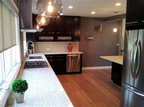 Kitchen Remodel Granite Countertops by White Granite Countertops Hgtv