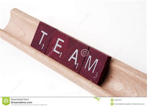 team scrabble scrabble team royalty free stock photography image 12991347