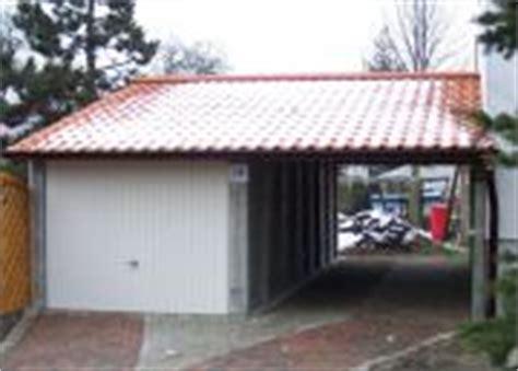 carport garage kombination holz garagen und carports betonfertiggaragen