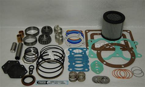quincy 390 104 record of change major overhaul kit air compressor parts